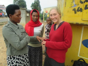 Former MCC Volunteer Teresa in Kigeme